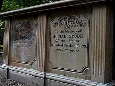 tombstone of spode II