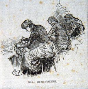 gold burnishers