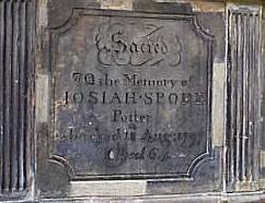 spode I tombstone