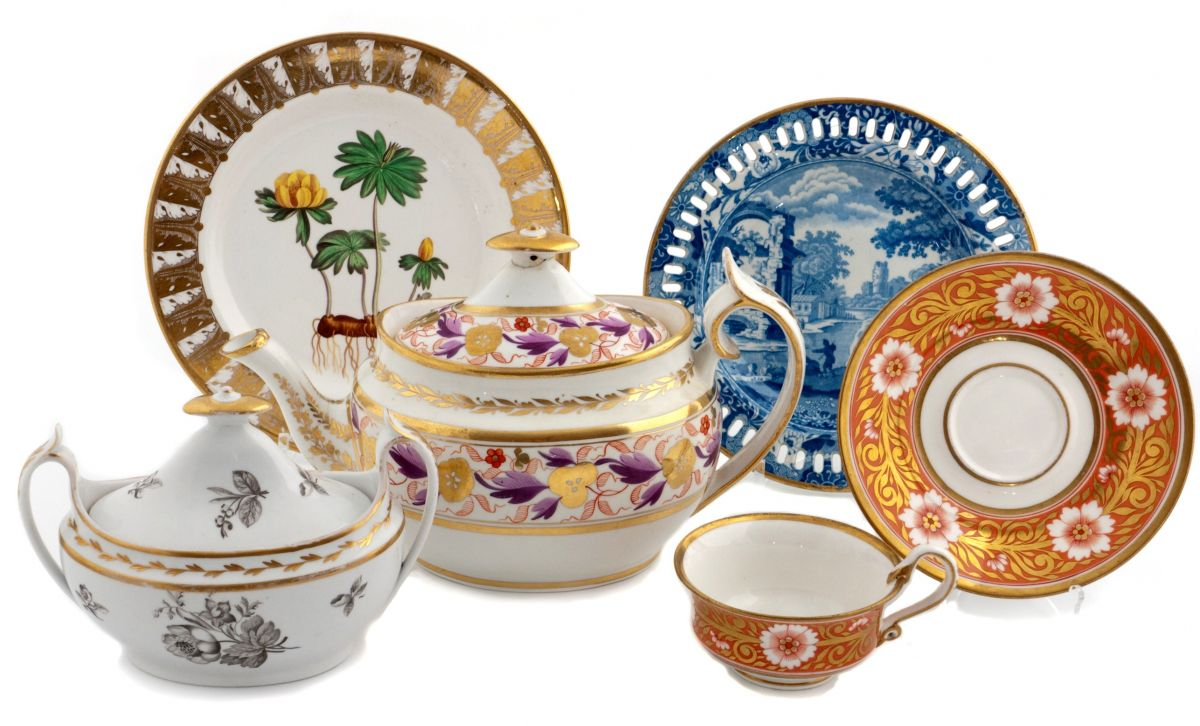 Spode Exhibition Online Pottery