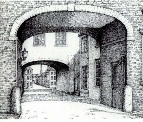 spode entrance